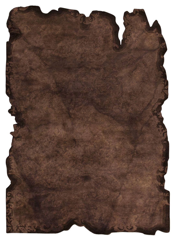 Mat Vintage Jalwa I Area Rug Dark Brown 5 2 X7 6