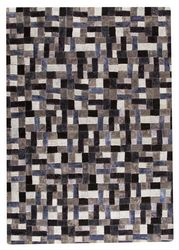 MAT Vintage Puzzle Area Rug - Grey
