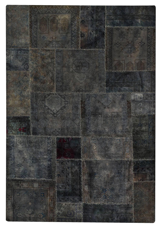 High Quality MAT Vintage Renaissance Area Rug   Dark Grey