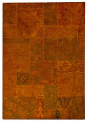 MAT Vintage Sarangi Area Rug - Orange