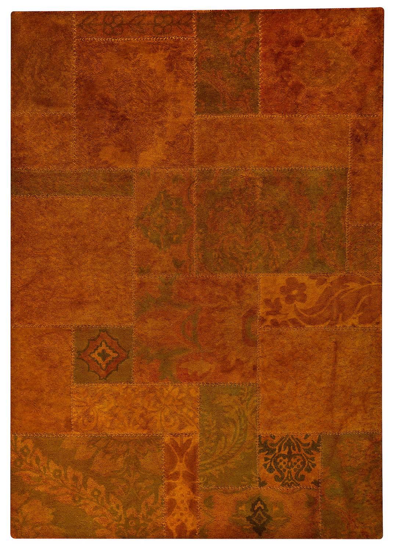 Mat Vintage Sarangi Area Rug Orange