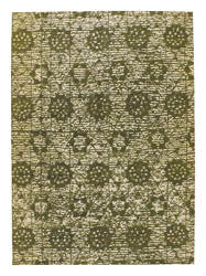 Mat-Orange-Baltimore-Green-new-zealand-wool-rug-thumb