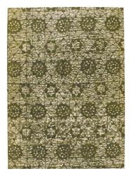 Mat-Orange-Baltimore-Green-new-zealand-wool-rug-thumb
