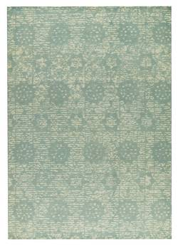 MAT Orange Baltimore Area Rug - Light Blue