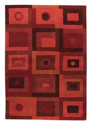 Mat The Basics Berlin Area Rug - Red