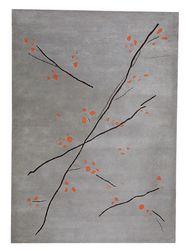 MAT The Basics Inari Area Rug - Grey Orange