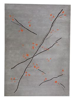 MAT The Basics Inari Area Rug - Grey Orange