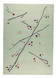 MAT The Basics Inari Area Rug - White Red