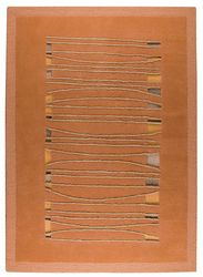 Mat The Basics Jamaica Area Rug - Orange