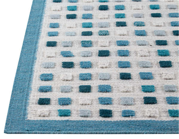 MAT The Basics Khema1 Area Rug - Turquoise