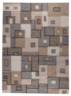 MAT The Basics Khema8 Area Rug - Grey