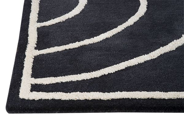 MAT The Basics Lake Placid Area Rug - Charcoal