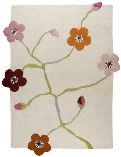 MAT The Basics Messina Area Rug - White Multi
