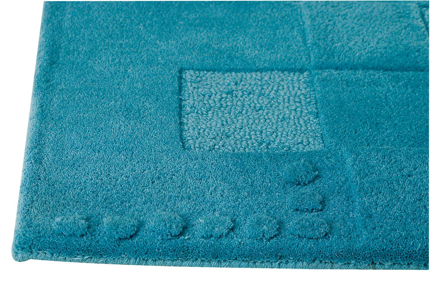 Mat the basics miami area rug turquoise for Turquoise area rug