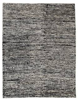 MAT The Basics Nature Area Rug - White Black