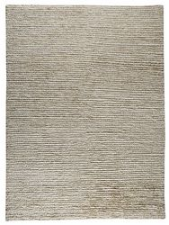 Mat The Basics Nature Area Rug - White on White