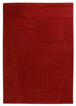 MAT The Basics Orlando Area Rug - Tomato