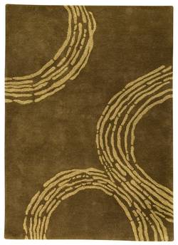 MAT The Basics Pamplona Area Rug - Olive Green