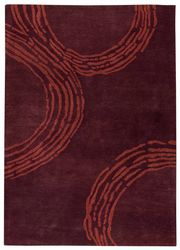 Mat The Basics Pamplona Area Rug - Plum
