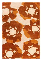 MAT The Basics Poppy Area Rug - Brown