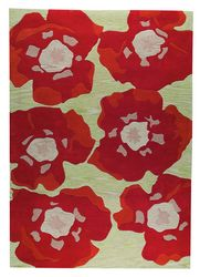 MAT The Basics Poppy Area Rug - Orange