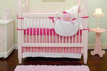 Discontinued Maddie Boo Lola Crib Bedding