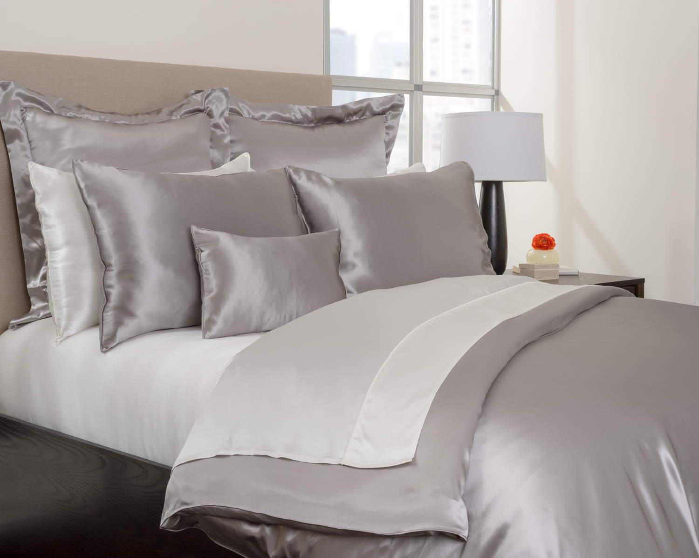 mari ann charmeuse silk flat sheet. Black Bedroom Furniture Sets. Home Design Ideas