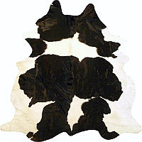 Muriel Kay Black and White Natural Cowhide