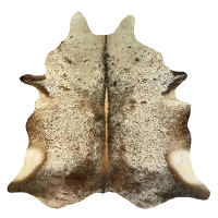 Muriel Kay Brown and White and Salt and Pepper Natural Cowhide