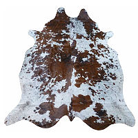 Muriel Kay Brown and White Spotty Natural Cowhide