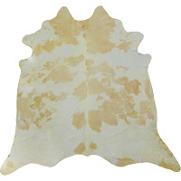 This thick, supple, shed-free cowhide may be used as an area rug, wall hanging, upholstery, and fashion accessories.