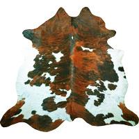 Muriel Kay TriisColor Exotic Brindle Natural Cowhide