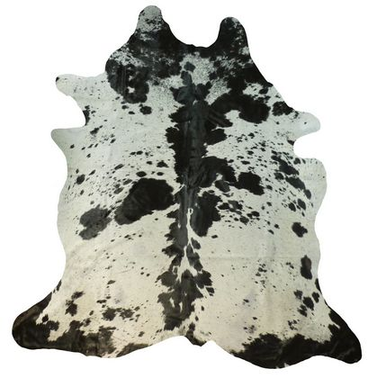 Muriel Kay Black and White Spotty Natural Cowhide