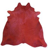 Muriel Kay Rich Red Dyed Cowhide