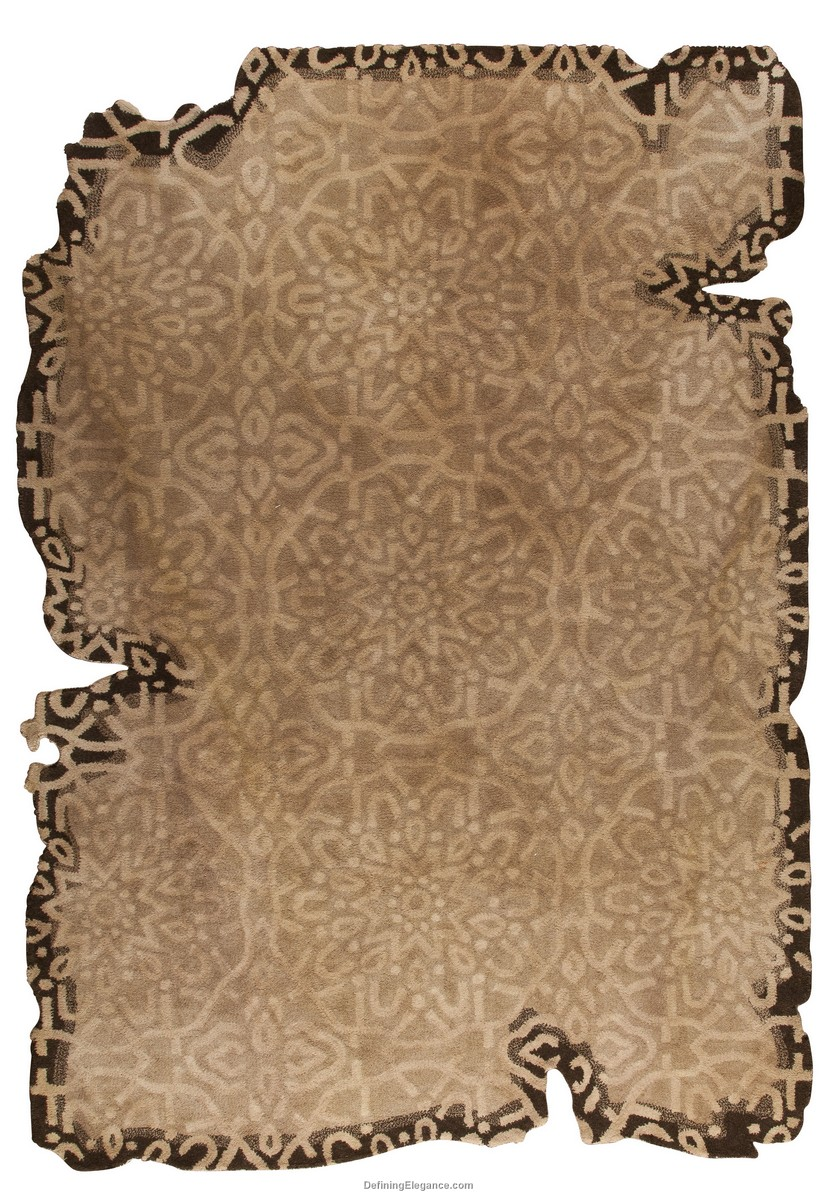 Discontinued M A Trading   MAT Vintage Jalwa III Area Rug   Style 2074    Light Beige