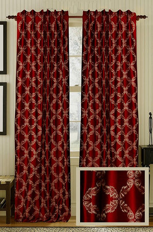 Muriel Kay Exclusive - Faux Silk Drapery Panel