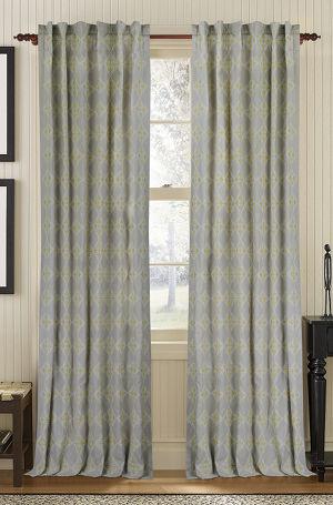 Muriel Kay Exotic - Linen/Cotton Drapery Panel - Mist