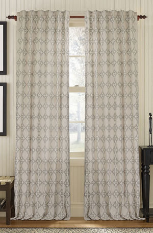 Muriel Kay Exotic - Linen/Cotton Drapery Panel - Natural