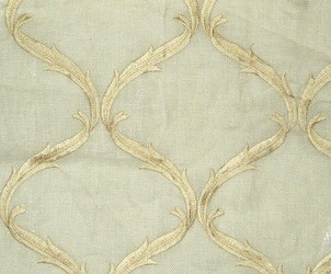 Muriel Kay Graceful - Linen Drapery Panel