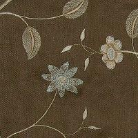 Muriel Kay Scarlet - Linen Drapery Panel