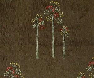 Muriel Kay Westwood - Linen Drapery Panel