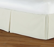 Nancy Koltes Linens Bruges Tailored Bedskirt