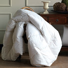 Nancy Koltes Capri Hungarian White Goose Down Comforters & Pillows