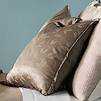 Nancy Koltes Fine Italian Linens - Central Park bedding is available as a duvet and shams.