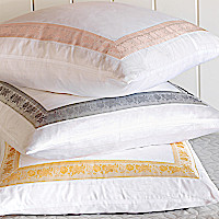 Nancy Koltes Linens Eleanor Ribbon Bedding