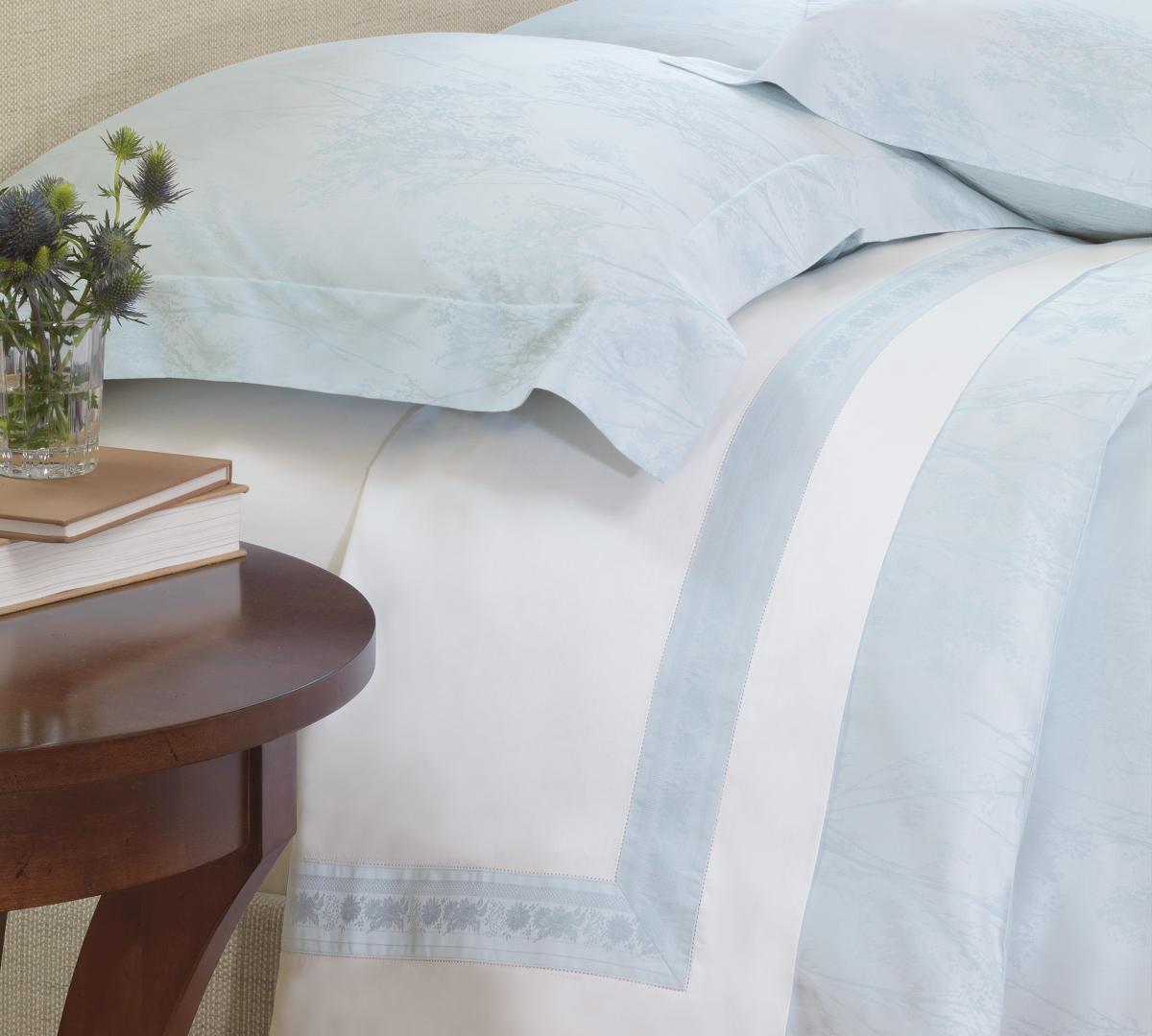 Nancy Koltes Linens Eleanor Ribbon Bedding