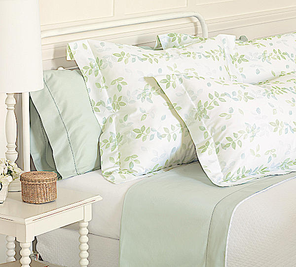 Nancy Koltes Linens Giverny Duvets & Shams