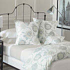 Gramercy Duvet & Shams Pillows by Nancy Koltes Fine Italian Linens