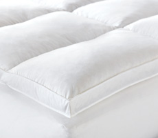 Nancy Koltes Linens Featherbed With Gusset