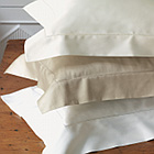 Nancy Koltes Newport Bedding is a 600 TC Egyptian Cotton Sateen.